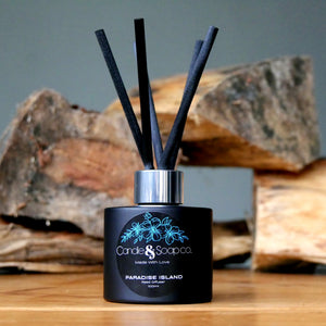 Paradise Island - Black Reed Diffuser