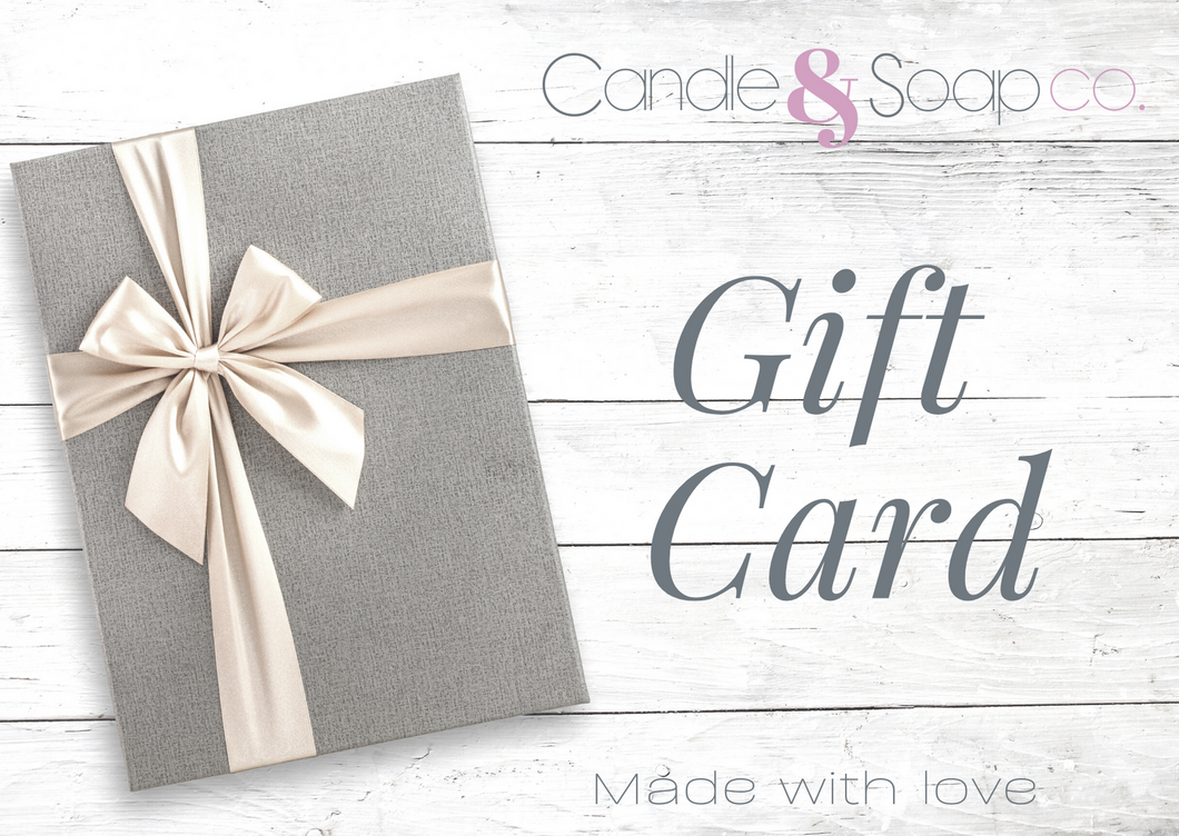 Candle & Soap co - Gift Card