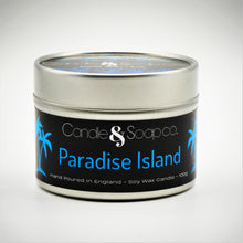 Load image into Gallery viewer, Paradise Island Candle Tin