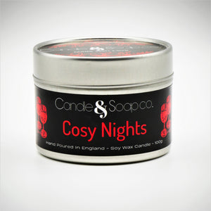 Cosy Nights Candle Tin