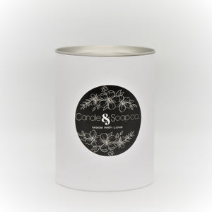 Clean Cotton Candle Jar