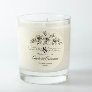 Apple & Cinnamon Candle Jar