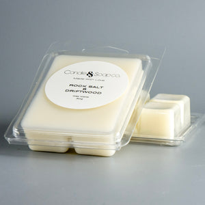 Rock Salt & Driftwood Wax Melts