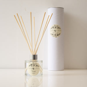 Vanilla Glass Reed Diffuser