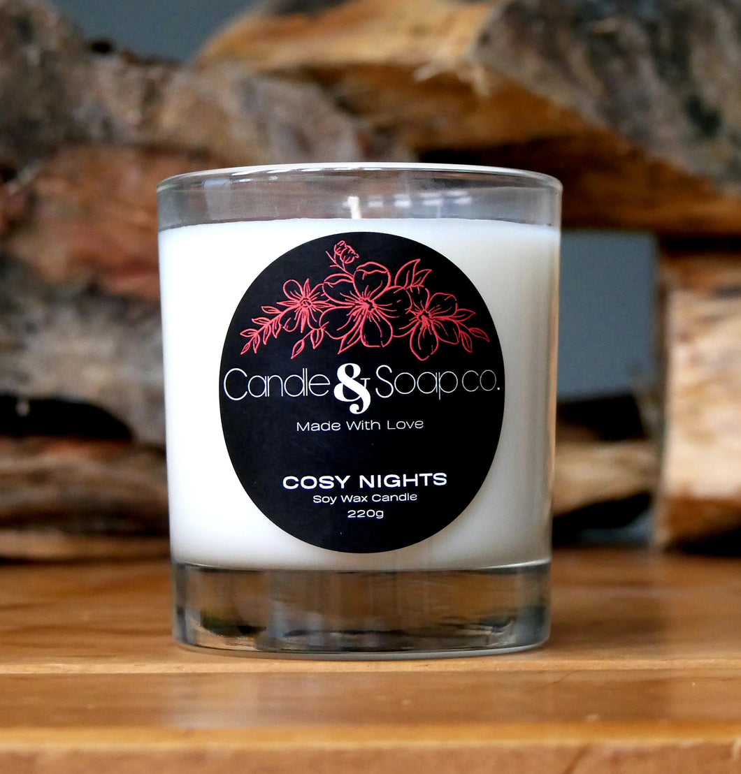Cosy Nights Candle Jar