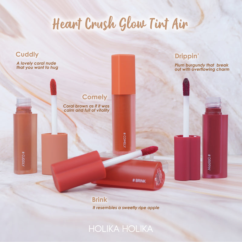 HOLIKA HOLIKA LUNCURKAN WARNA BARU HEART CRUSH GLOW TINT AIR