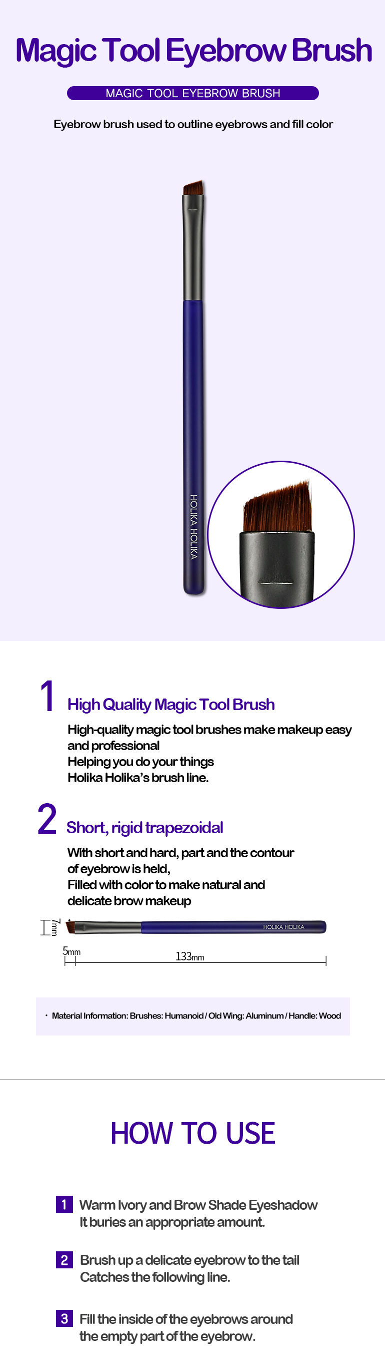 Kuas Alis | Magic Tool Eyebrow Brush
