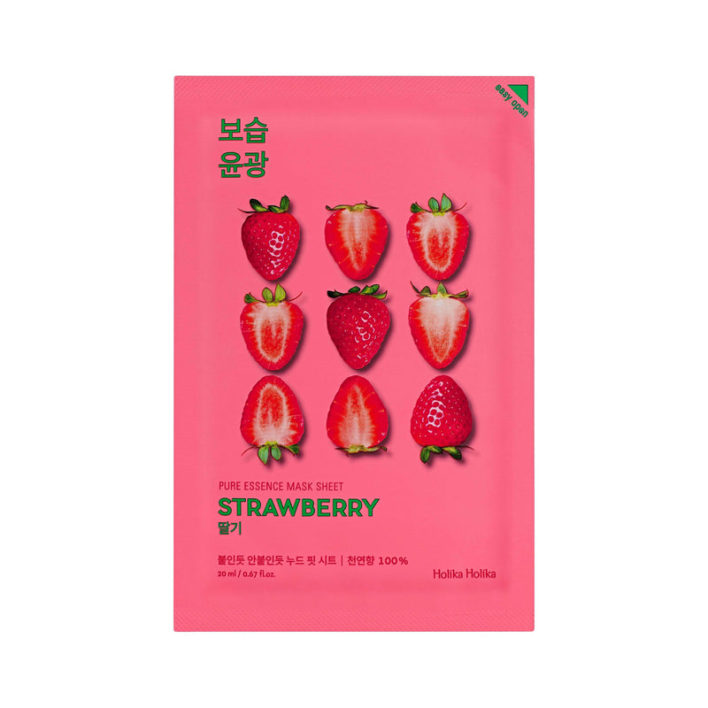 Masker Wajah | Pure Essence Mask Sheet Strawberry