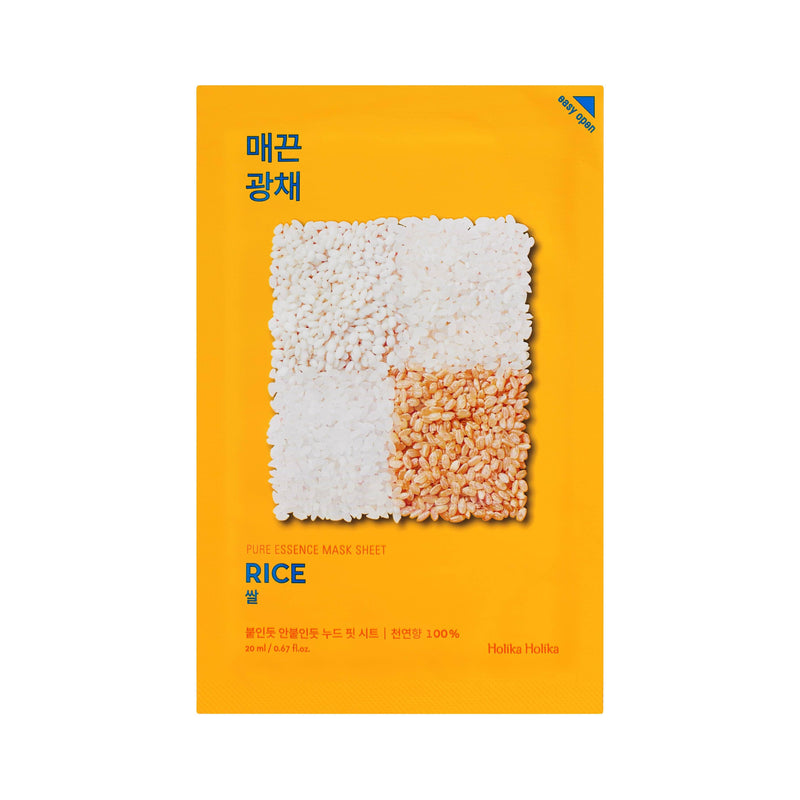 Masker Wajah | Pure Essence Mask Sheet Rice
