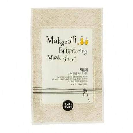 Makgeolli Brightening Mask Sheet - Holika Holika