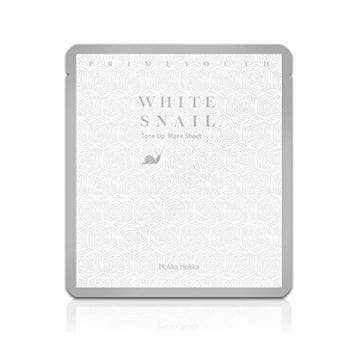 Prime Youth White Snail Tone Up Mask Sheet - Holika Holika