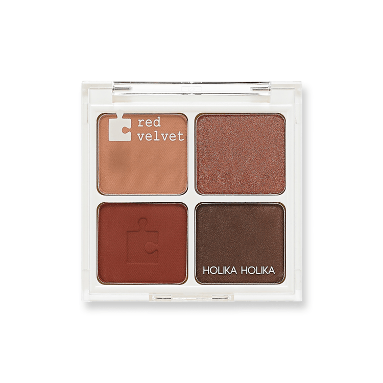 Piece Matching Shadow Palette Red Velvet
