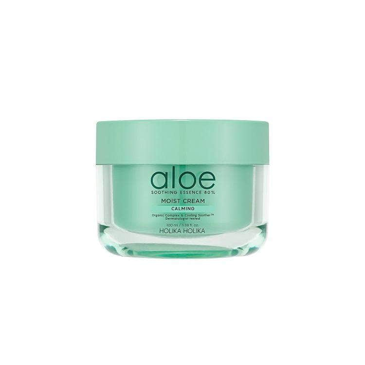Aloe Soothing Essence 80% Moist Cream - Holika Holika