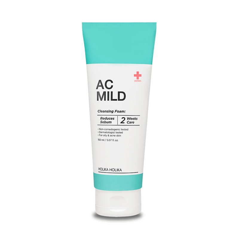 AC Mild Cleansing Foam - Holika Holika