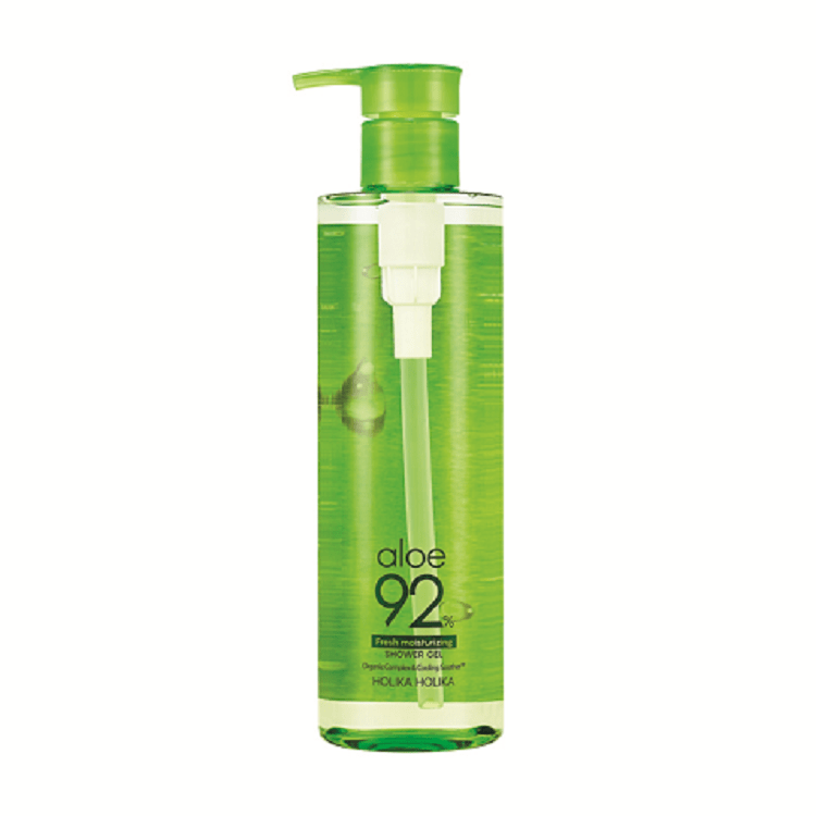 Aloe 92% Shower Gel (Fresh Moisturizing) - Holika Holika