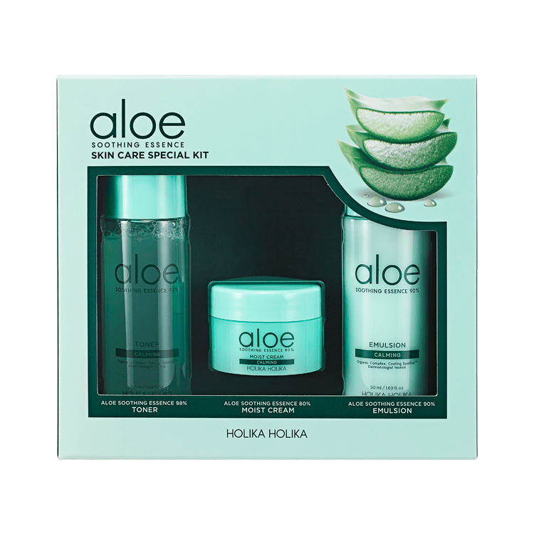 Aloe Soothing Essence Skin Care Special Set