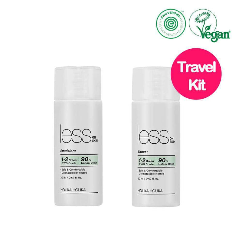 Less On Skin Travel Size