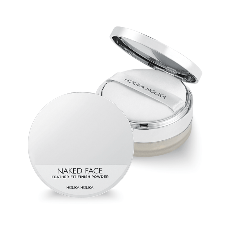 Naked Face Feather-Fit Finish Powder - Holika Holika
