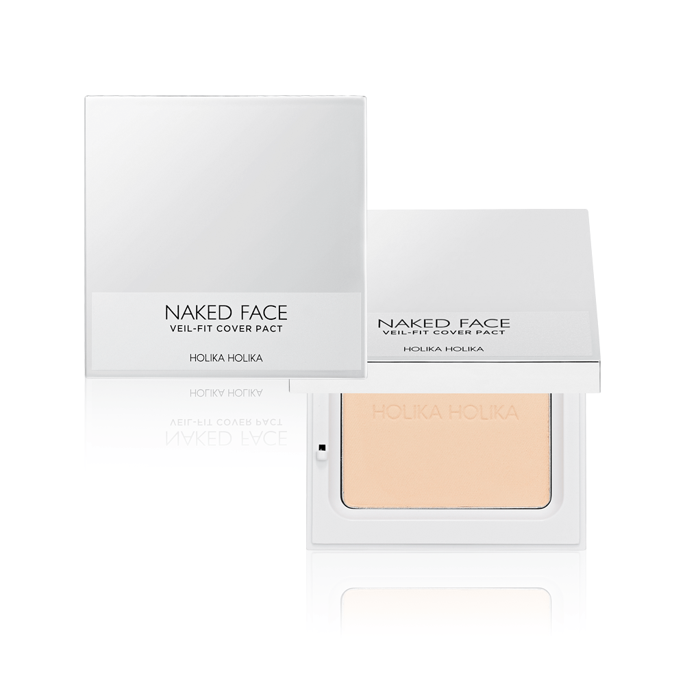 Naked Face Veil-Fit Cover Pact - Holika Holika