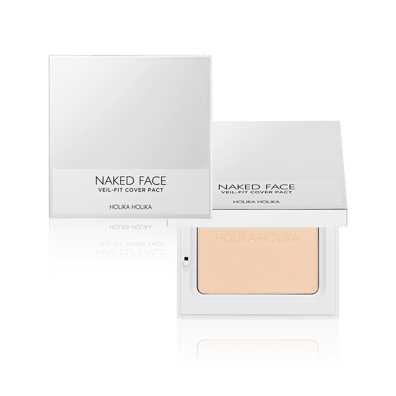 Bedak Padat | Naked Face Veil-Fit Cover Pact