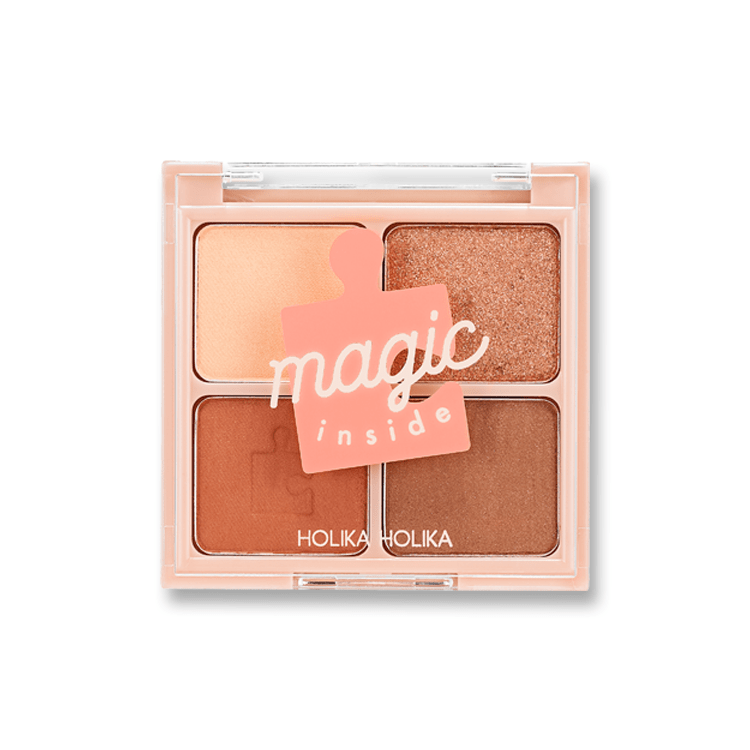 Piece Matching Shadow Palette Orange Velvet - Holika Holika