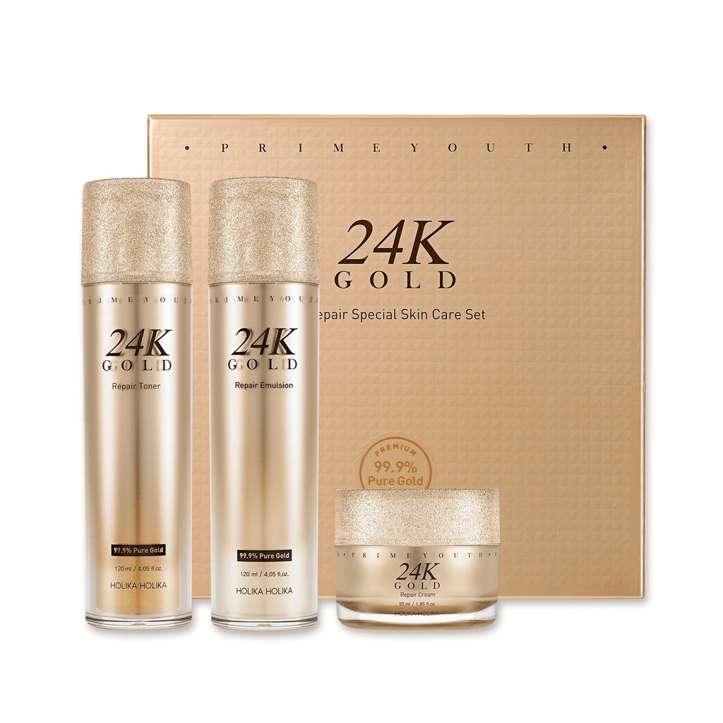 Prime Youth 24K Gold Repair Skin Care Special Set