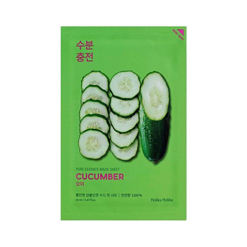 Masker Wajah | Pure Essence Mask Sheet Cucumber