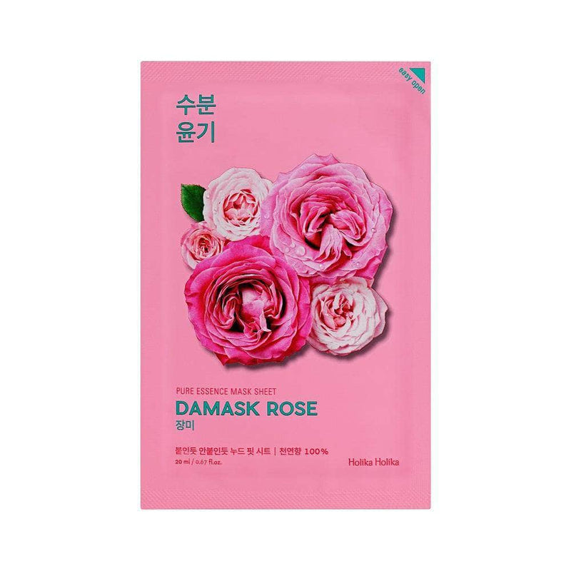 Masker Wajah | Pure Essence Mask Sheet Damask Rose