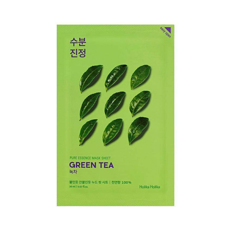 Masker Wajah | Pure Essence Mask Sheet Green Tea