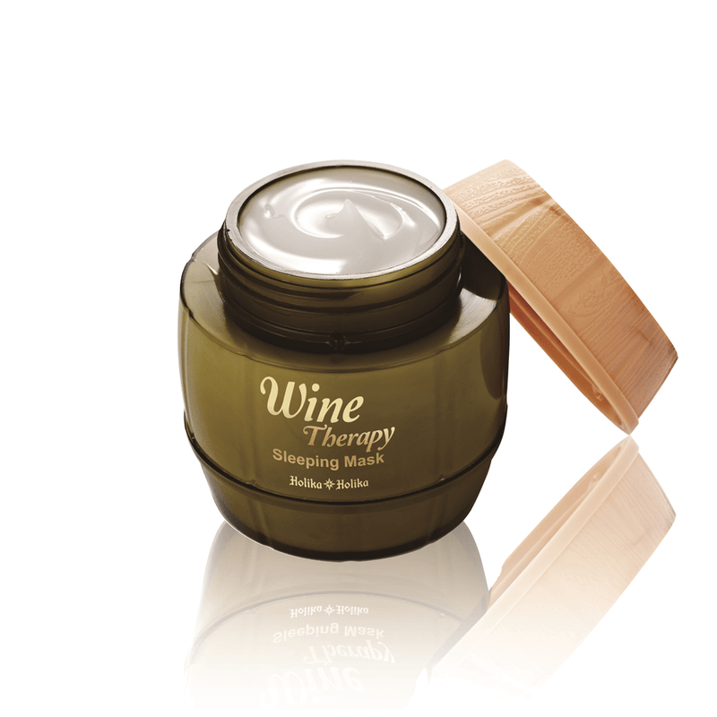 Sleeping Mask Pencerah | Wine Therapy Sleeping Mask (White Wine)