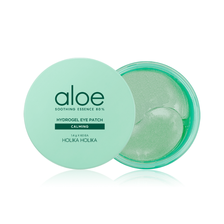 Aloe Soothing Essence 80% Hydrogel Eye Patch - Holika Holika