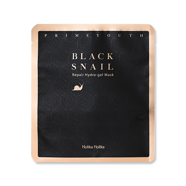 Masker Wajah | Prime Youth Black Snail Hydro-gel Mask