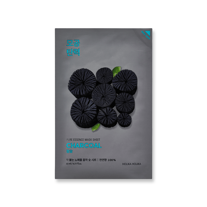 Masker Wajah | Pure Essence Mask Sheet Charcoal