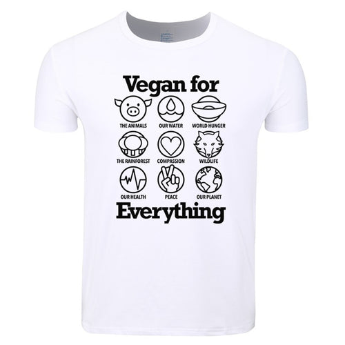T-SKJORTE Vegan for everything