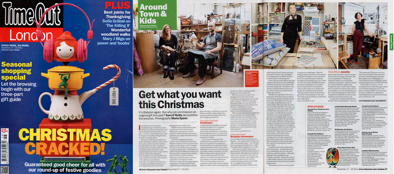 Time out london christmas gifts