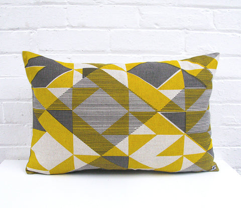 Trigonometry: Large Cushion