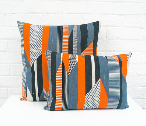 Textured Stripe Cushion