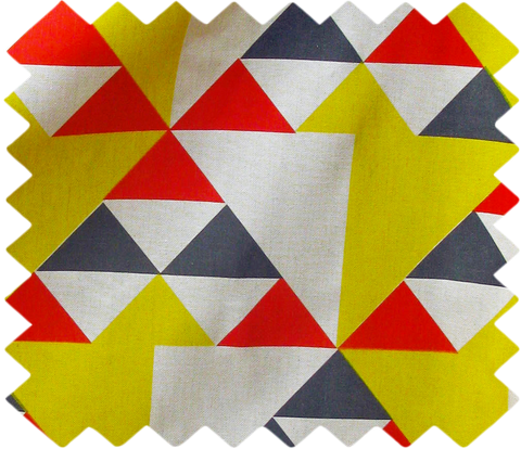 Aztec Swatch: Red, Blue, Yellow