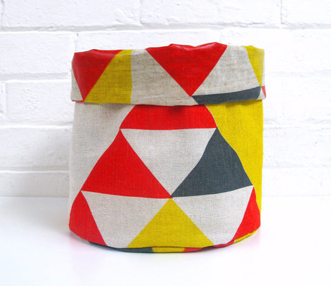 Aztec Soft Pots: Red Blue Yellow