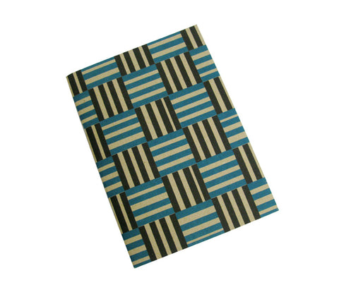 Black stripe: A5 notebook