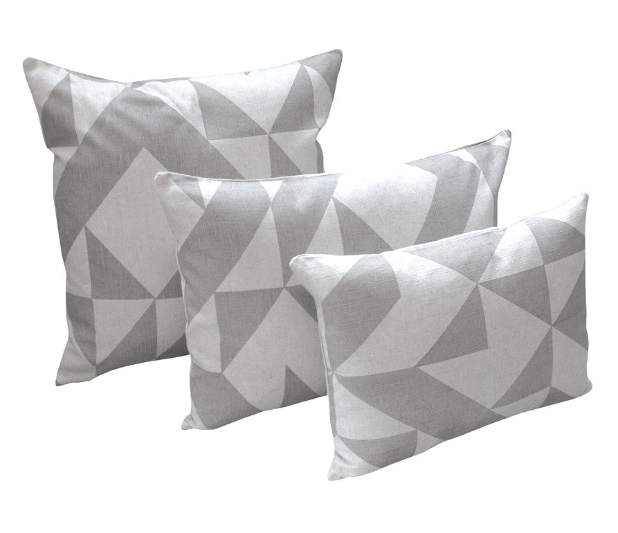 Angle Cushion: Grey