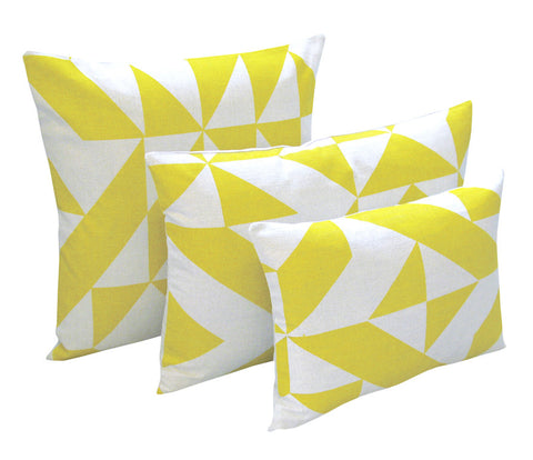 Angle Cushion: Yellow