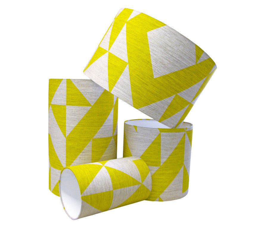 Angle Lampshade: Yellow