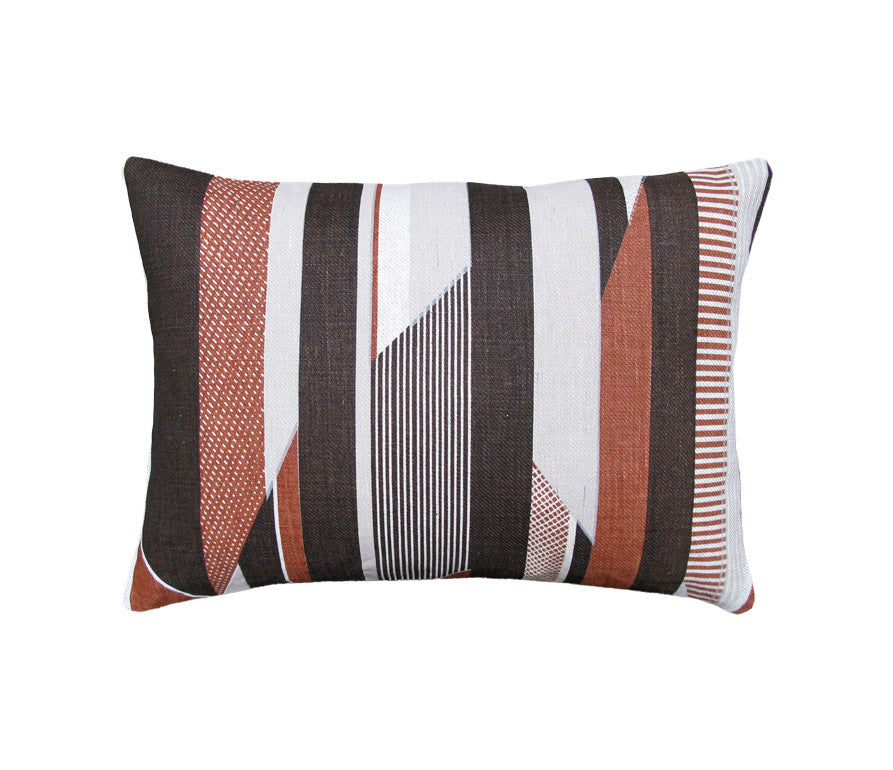 Textured Stripe: Small Cushion