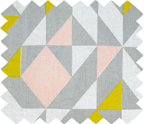 Plane Curve Swatch: Grey, Pink, Yellow