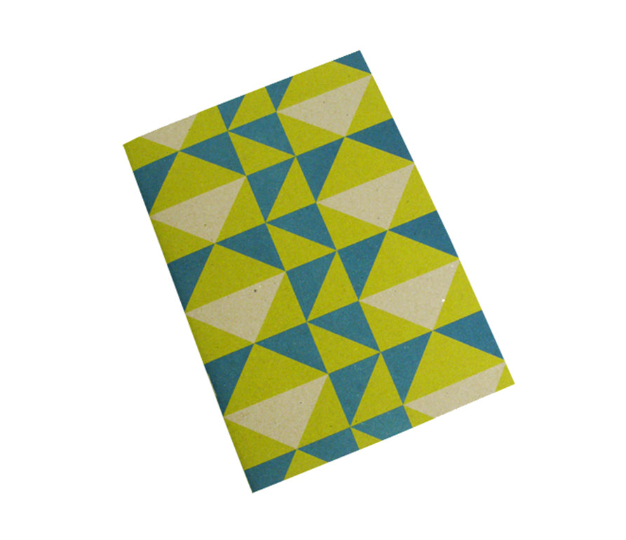 Yellow triangle: A5 notebook
