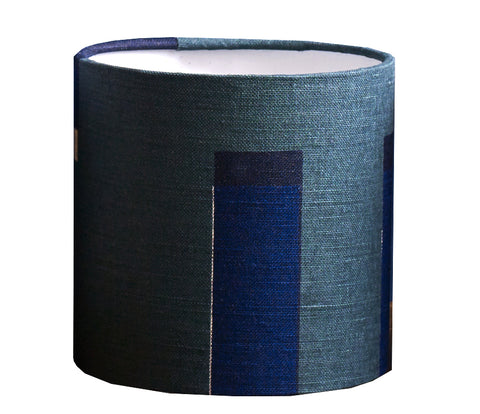 Kasbar Lampshade: Green and Navy