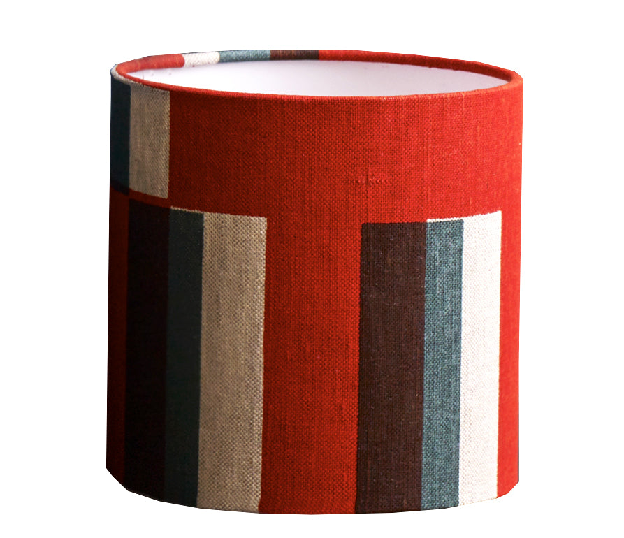 Kasbar Lampshade: Red and Green