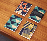 Mixed designs: A6 notebooks (x3)