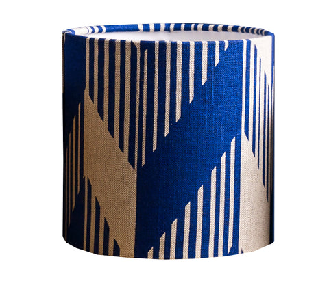 Optic Lampshade: Blue